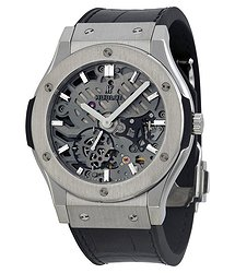Hublot Classic Fusion Hand Wind Skeleton Dial Men's Watch
