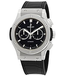 Hublot Classic Fusion Mat Black Dial Automatic Men's Chronograph Watch