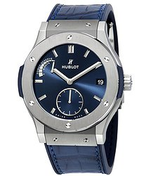 Hublot Classic Fusion Power Reserve 8 Days Titanium 45mm Men's Watch