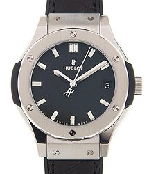 Hublot Classic Fusion Quartz Black Dial Ladies Watch 581NX1171LR