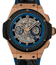 Hublot King Power Unico Gold and Blue