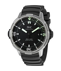 IWC Aquatimer Automatic 2000 Black Dial Men's Watch