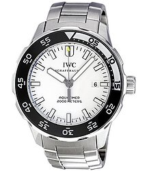 IWC Aquatimer Automatic 2000 White Dial Stainless Steel Men's Watch 3568-09