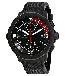 IWC Aquatimer Black Dial Automatic Men's Watch