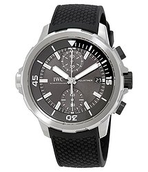 IWC Aquatimer Grey Dial Automatic Men's Chronograph Watch