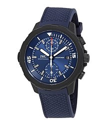 IWC Aquatimer Laureus Sport for Good Chronograph Automatic Blue Dial Men's Watch