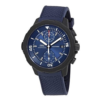 Купить часы IWC Aquatimer Laureus Sport for Good Chronograph Automatic Blue Dial Men's Watch  в ломбарде швейцарских часов