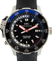 IWC Aquatimer Stainless Steel Black Automatic IW354702