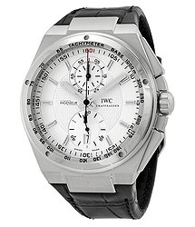 IWC Big Ingenieur Chronograph Automatic Silver Dial Black Leather Men's Watch
