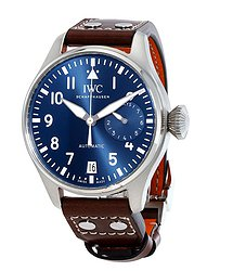 IWC Big Pilot Le Petit Prince Midnight Blue Dial Automatic Men's Watch