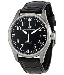 IWC Classic Pilot Mark XVI Steel Black Men's Watch