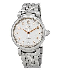 IWC Da Vinci Silver Dial Automatic Men's Steel Watch