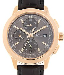IWC Ingenieur 18kt Rose Gold Gray Automatic IW380803