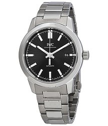 IWC Ingenieur Automatic Black Dial Men's Watch