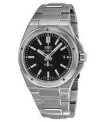 IWC Ingenieur Black Dial Stainless Steel Automatic Men's