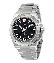 IWC Ingenieur Black Dial Stainless Steel Men's Watch
