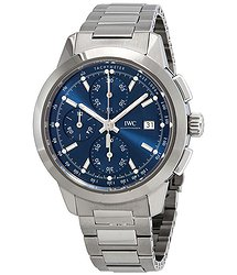 IWC Ingenieur Chronograph Automatic Blue Dial Men's Watch