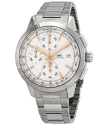 IWC Ingenieur Chronograph Automatic Silver Dial Men's Watch