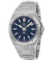 "IWC Ingenieur ""Laureus Sport For Good Foundation"" Automatic Blue Dial Stainless Steel Men's Watch"