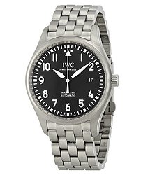 IWC Mark XVIII Black Dial Automatic Stainless Steel Men's Watch