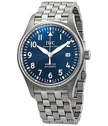 "IWC Mark XVIII Edition ""Le Petit Prince"" Blue Dial Automatic Men's Watch"