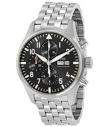 IWC Pilot Spitfire Automatic Chronograph Grey Dial Men's Watch