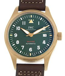 IWC Pilot Spitfire Automatic Green Dial Men's Watch