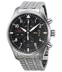 IWC Pilots Chronograph Automatic Stainless Steel Men's Watch