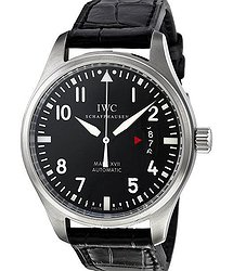 IWC Pilots Mark XVII Black Alligator Men's Watch