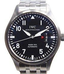 IWC Pilots Stainless Steel Black Automatic IW326504