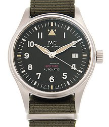 IWC Pilots Stainless Steel Black Automatic IW326801