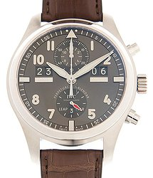 IWC Pilots Stainless Steel Gray Automatic IW379107