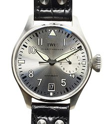 IWC Pilots Stainless Steel Silver Automatic IW500906