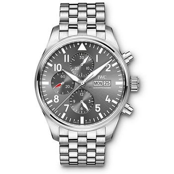 Купить часы IWC Pilots Watch Chronograph Spitfire  Slate Dial Automatic Self Wind IW377719 Mens WATCH  в ломбарде швейцарских часов