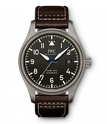 IWC Pilots Watch Mark XVIII Heritage  Black Dial Automatic Self Wind IW327006 Mens WATCH
