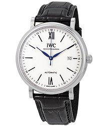 "IWC Portofino ""150 Years"" White Dial Automatic Unisex Watch"