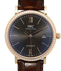 IWC Portofino 18kt Rose Gold Dark Grey Automatic IW356516