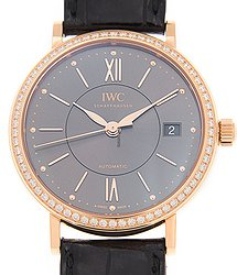 IWC Portofino 18kt Rose Gold Dark Grey Automatic IW458108
