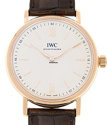 IWC Portofino 18kt Rose Gold White Manual Wind IW511102