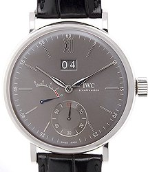 IWC Portofino 18kt White Gold Gray Manual Wind IW516101