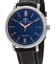 IWC Portofino Automatic Blue Dial Men's Watch