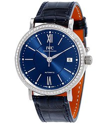 IWC Portofino Automatic Blue Dial Unisex Watch