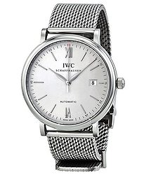 IWC Portofino Automatic Silver Dial Men's Watch 3565-05