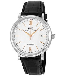 IWC Portofino Automatic Silver-plated Dial Men's Watch