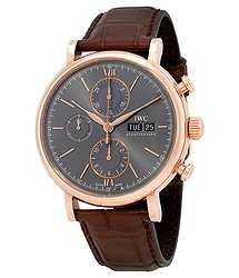 IWC Portofino Chronograph Ardoise Dial Men's Watch