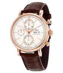 IWC Portofino Chronograph Automatic Silver Dial Men's Watch