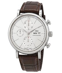 IWC Portofino Chronograph Edition 150 Years Automatic White Dial Men's Watch