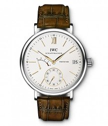 IWC Portofino Hand-Wound Eight Days  Silver Dial Manual Winding IW510103 Mens WATCH