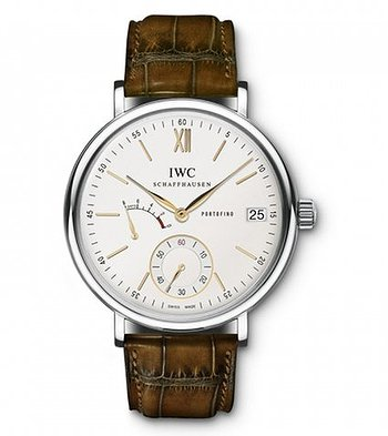 Купить часы IWC Portofino Hand-Wound Eight Days  Silver Dial Manual Winding IW510103 Mens WATCH  в ломбарде швейцарских часов