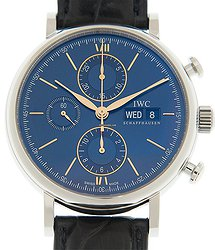 IWC Portofino Stainless Steel Blue Automatic IW391036